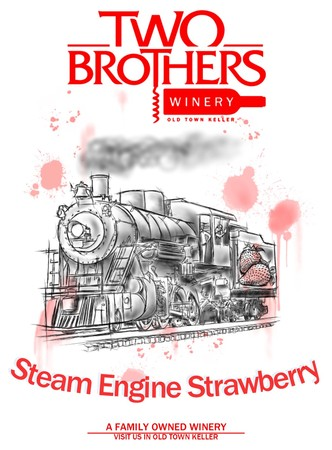 Steam Engine Strawberry